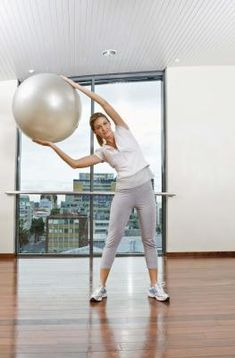 Stability Ball workouts..... for those lazy days where the gym and I arent getting along