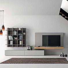 """Képtalálat a következőre: """"Retro-Sofa mit minimal Medien Möbel  """""""