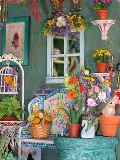 1:12 scale garden shop