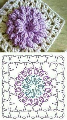 The Ultimate Granny Square Diagrams Collection The Ultimate Grann. : The Ultimate Granny Square Diagrams Collection The Ultimate Granny Square Diagrams Collection ⋆ Crochet Kingdom Crochet Motifs, Granny Square Crochet Pattern, Crochet Flower Patterns, Crochet Diagram, Crochet Stitches Patterns, Crochet Chart, Crochet Squares, Crochet Granny, Diy Crochet