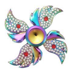 Four Corner Colorful Angel Wings Shape Fidget Hand Spinner Focus Attention EDC Reduce Stress Toys  Specification: Item Four Corner Colorful Hand Spinner Material Zinc Alloy Size 67cm Weight 150g Description: Great For Fidgety Hands a good choice for Killing Time. Great For Fidgety Hands ADD & ADHD Sufferers Killing TimeHelps Relieve Stress Perfect size suitable for Adults and kids Easy To CarrySmallSimpleDiscrete and Funalso effective for Focus and Deep Thought Use our Fidget Spinner Toy to…