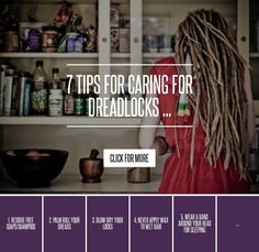 7. Don't Start Dreads with Food Products - 7 Tips for Caring for Dreadlocks ... → Hair