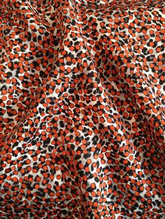 Vintage silk jacquard, 1970's Abraham. At  www.charlottebialas.com/eshop