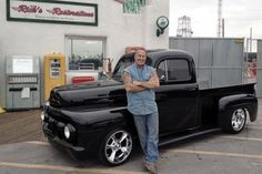 Rick Dale from American Restoration with his 1951 Ford