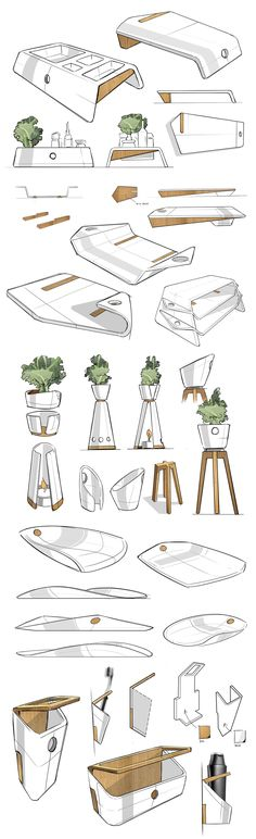 Echt! Let op het groen! Lef & photoshopbasics: SKETCHBOOK on Behance