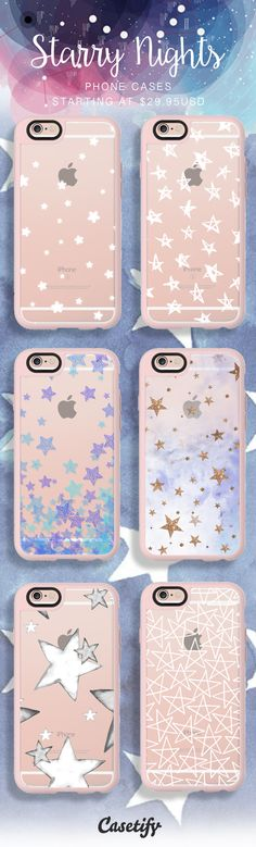 Starry Starry Nights. Shop our selective designs here // http://www.casetify.com/artworks/KEWLI21Owb
