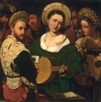 Musical Group Made in Italy, Europe 1520s Callisto Piazza (Calisto de la Piaza da Lodi), Italian