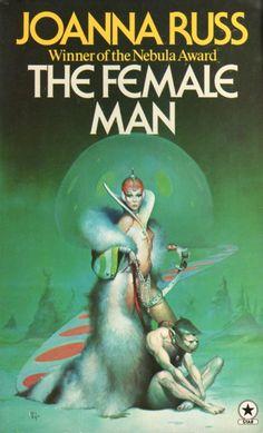 PETER ANDREW JONES - art for The Female Man by Joanne Russ - 1977 Star paperback
