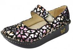 My newest nurse shoes!    Alegria Paloma Hearts Suede | Alegria Shoes