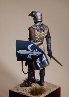 mediaval knight in the holiland | planetFigure | Miniatures