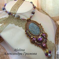 """Александра Громова. Кулон """"Гранд-Каньон"""". Handmade."""