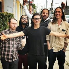 skrillex and incubus pinterest: firstname_ill