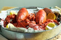 Simple steps to cooking a live lobster perfectly every time - the humane route for me :) Lobster Recipes, Seafood Recipes, Dinner Recipes, I Love Food, Good Food, Grilling Recipes, Cooking Recipes, Healthy Recipes, How To Cook Broccoli
