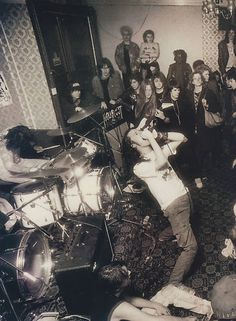 Napalm Death - very old pic here kiddies
