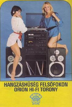 #stereo #hifi #ad #advertisement #Orion #Hungarian #Magyar #print