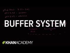 Introduction to buffers | Water, acids, and bases | Biology | Khan Academy - YouTube