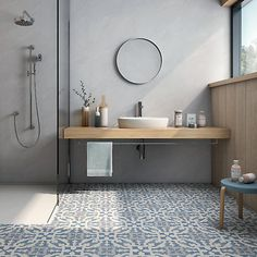 20 Rustic Bathroom Vanity Ideas that are Simply Unforgettable - Site Home Design Bathroom Red, Steam Showers Bathroom, Modern Bathroom, Small Bathroom, Master Bathroom, Concrete Bathroom, Eclectic Bathroom, Bathroom Taps, Bathroom Cleaning