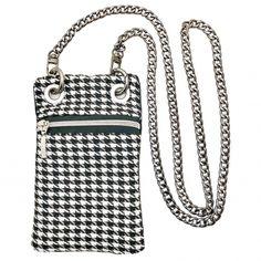 Mini Bag Black& White Lady Dior, Mini Bag, Madrid, Wallet, Black And White, Chain, Bags, Fashion, Handmade Handbags