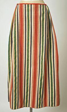 Ensemble Date: 1800–1941 Culture: Dutch Medium: wool, cotton, metal #NoordHolland #Volendam