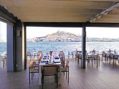 La Calma, Ibiza - haven't been to this place but what a view of D'alt Villa!
