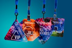 pc/nametag Inc. introduces eight new stock shapes for its Premier Event Badge, offering even more customizable options for customers. Pajama Birthday Parties, Name Badges, Badge Design, Celebrity Weddings, Corporate Events, Birthday Celebration, Event Planning, How To Memorize Things, Shapes