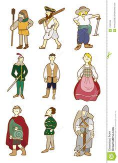 middeleeuwen mensen - Google zoeken