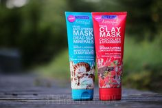 Freeman • Dead Sea Minerals Facial Anti-Stress Mask & Chocolate & Strawberry Detoxifying Mask