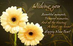 Wishing you beautiful moments of new year