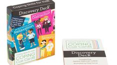 On this episode of the podcast, I talk about the different ways to use the Coping Cue Cards Discovery Deck. There are so many creative ways people have shared with me. How would you use this deck with kids? Anxiety And Anger, Anxiety Coping Skills, How To Treat Anxiety, Deal With Anxiety, Anxiety In Children, Anxiety Activities, Feelings Activities, Counseling Activities, Social Anxiety