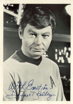 McCoy (DeForest Kelly autograph)