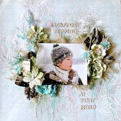 Prima DT Creation featuring Holiday Jubilee - Scrapbook.com