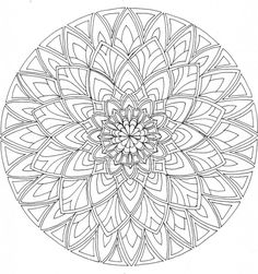 ... on Pinterest | Mandalas, Mandala Coloring Pages and Celtic M