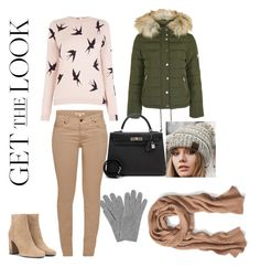 """#GETTHELOOK"" by sefijatabakovic ❤ liked on Polyvore featuring Barbour, Yves Saint Laurent, Oasis, Topshop, Banana Republic, Hermès, CC and L.K.Bennett"