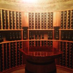 Langmeil Wines new Freedom Shiraz private tasting cellar.... step back in time and marvel at 172 years of history.