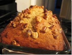 Brown Sugar Banana Nut Bread - probably one of the best banana nut breads i have tasted! about to make another batch just to make sure ;)