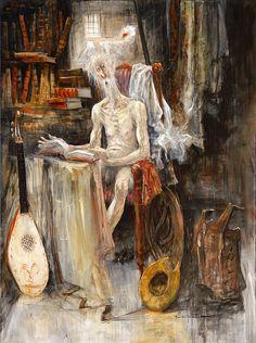 Marcel Nino Pajot - Don Quixote - Impromptu Lecture Marcel, Sculptures, Sketches, Fine Art, Medieval Art, Painting, Illustration Art, Art, Contemporary Art