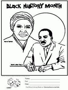 Rosa Parks Coloring Page History Learning and Child