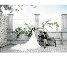 korea pre-wedding photo shoot