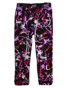 Justice Clothes for Girls Outlet | Paint Splatter Leggings | Girls Leggings Clothes | Shop Justice