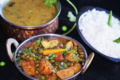 Aloo Matar ( Potato and green peas ) Curry