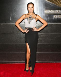 Selita Ebanks in Jacob & Co. jewelry at the New Yorkers For Children Dinner Dance.