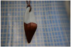 Ketten mittellang - Kette Blatt-Anhänger Kupfer copper dipped leaf - ein Designerstück von A-Little-Fashion #fashion #inspiration #trend #fall #winter #summer #spring #pantone #frühjahr #sommer #herbst #style #outfit #ootd #filizity