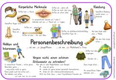 - level of education - Placemat personal description – fraumohrsrasselbandes webseite! You are in the right place about s - Science Student, Social Science, Computer Science, Science Fiction, German Grammar, German Language Learning, La Formation, Education System, Elementary Education