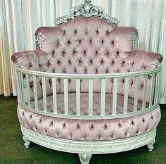 Baby bed yay or nay?🛏. #like4like #doubletap #lovelife❤️ via @zara__lifestyle my @lamoda010 Baby Girl Bedding, Baby Bedroom, Baby Room Decor, Baby Cribs, Kids Bedroom, Crib Bedding, Bedding Sets, Tufted Crib, Round Cribs