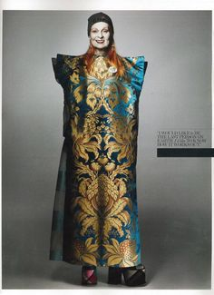 She is an original...Why Vivienne Westwood Doesn't Read Fashion Magazines