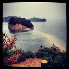 Angel road Shodoshima Japan:)