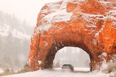 Scenic Byway, Highway 12, Red Canyon,  Dixie National Forest, Utah