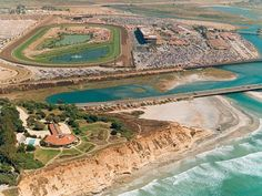@DelMarRacing is celebrating 75 years of racing. The track is just a couple miles from the Solana Beach station.