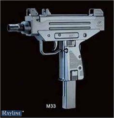 Federdruck Softair Pistole M33
