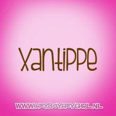 Xantippe  (Voor meer inspiratie, en unieke geboortekaartjes kijk op www.heyboyheygirl.nl)